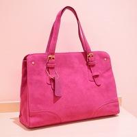 handbags Korean casual bag matte material handbag decorative belt width vertical zipper bag,1119