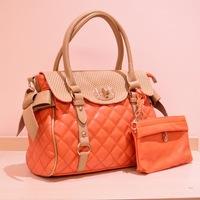 handbags new spring luxury leather bag embossed micro-cap lock bag Shoulder Bag,1094