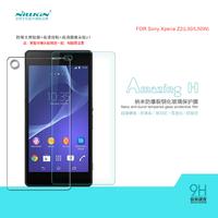 NILLKIN Amazing H Nanometer Anti-Explosion Tempered Glass Screen Protector For Sony Xperia Z2 L50 L50W,MOQ:1PCS
