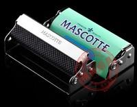 New 1pc Automatic Tobacco Roller Tin Cigar CIGARETTE ROLLING MACHINE 70mm Regular send rolling paper