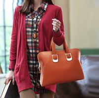 European version bag primary sources of handbags wholesale 2014 fashion simple wild Totes cross pattern Mobile Messenger,Z879