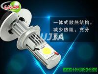 Free shipping 1set/lot H4 car LED headlight,  super bright car led H4 High low lamp,H4,H7,H8,H9,H10,9005,9006 HB3,HB4