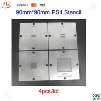 New arrival! BGA Reballing 90mm PS4 Stencil CXD90025G CXD90026G K4G41325FC GDDR5 RAM K4B2G1646E DDR3 SDRAM 0.25mm