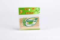 Free Shipping, wooden toothpick, tooth pick in bag, party pick, Fruit bamboo stick(120pcs/bag) Wholesale
