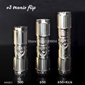 new 2014 electronic cigarette flip v3 clone mod stainless mechanical mod flip mod v3 tronix mod