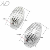Free shipping XD Fashion jewelry diy findings oval shape beads jewelry making in jewelry P469 5 pcs/lot
