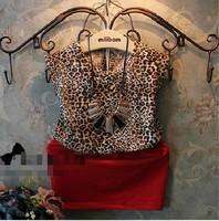 New arrival girls summer causal one pieces dresses kids leopard dress 615