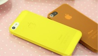 Hot Free Shipping Ultra thin Transparent Back Cover Phone Case for iPhone 5 5S 1piece