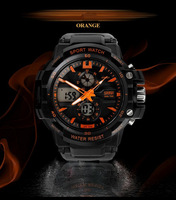 2014 new design aliexpress made in China Waterproof Outdoor watches sport watch digital chronograph watch for men