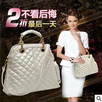 New 2014 Black Women's Handbag Big Bag Female Fashion All-match Portable Women's one Shoulder Cross-body Bag Ladies Totes