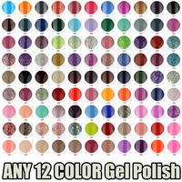 PICK ANY 12 IN 114 COLOR Ms.Keiko Soak-off UV Led Gel Polish SHELLAC Long-lasting Nail Art 7ml