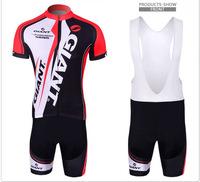 New Women Men Ropa Ciclismo Bicycle Sportswear Mountain Bike MTB Clothing Tour de France GIANT Cycling Jersey (Bib) Shorts 2014