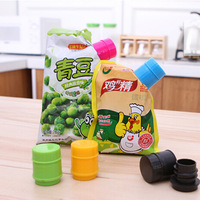 Free shipping Creative food sealing clip cap type nozzle spout kittchen tools Baking supplies