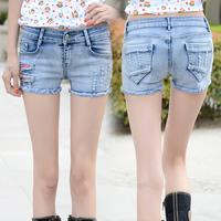 M&C S374 New 2014 fashion hole shorts female denim shorts mm / women jeans shorts Wholesale casual pants
