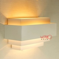 high quality indoor wall lamps iron light elegent decoration design light white or red color lighting fixtures