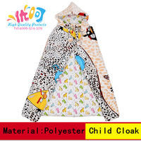 Thickening Thermal Cloak  Children  Cloak   Fabric  Cloak Outdwear  Kid's Clothes Accessory  Drop Shipping