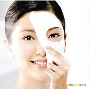 10PCS Good model Skin Face Care DIY Facial Paper Compress Masque Mask Free Shipping(China (Mainland))