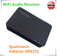 2014 Airplay Wifi Audio Music Receiver For Speaker Support DLNA Airplay Streaming FLAC APE HIFI Music For iOS Android Windows