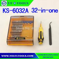 32 in 1 screwdriver set. KS6032 Multi-Use Screwdrive Set for Mobile Phone Repair Kit Tools