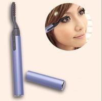 free shipping!!  Mini Portable Electric Heated Eyelash Curler Eye Lashes Pen Style