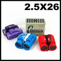 3pcs Camman 2.5*26 Children's Binoculars