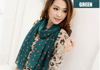 scarf women for fall or winter silk scarves long J018 chiffon scarves 2014 new style shawls