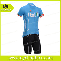 Fashion bicycle wear with the World cup Italy team design for men in road bicycle
