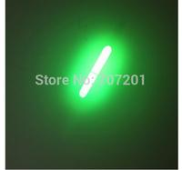 100PCS (50Bags) 3.0mm*27mm Green Night Fishing Light LED Fluorescent Dark Glow Sticks Free Shipping