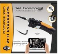 HD 720P Wireless WIFI Endoscope borescope  Video Inspection Snake microscope Camera 1M 2.0Mega Pixles