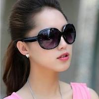 2014 women's vintage fashion sunglasses gradient mirror big box all-match sunglasses charm glasses 2