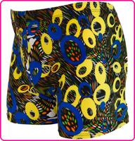 2014 Limited New Geometrics Polyester Masculino Sunga Men Swimming Trunks Quality Spandex Swimwears Bermuda for free Shipping