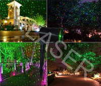 Red&Green&Blue Landscape laser lighting for outdoor/garden/House/Lawn/Water-surface laser lighting