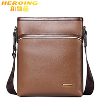 New 2014 Hot Sale Fashion Quality Genuine Leather Men Messenger Bags,Briefcases,Men's Travel Bags,Casual Daypacks,Crossbody Bags