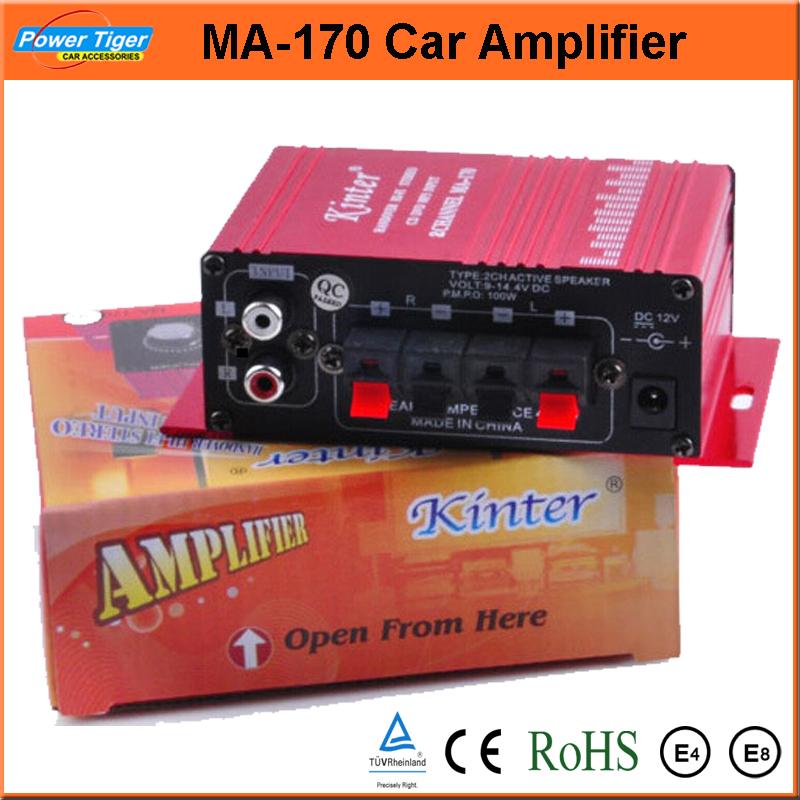 Ipod Amplifier Speaker Popular Kit Car Stereo amplificador hi fi Mini amplificador Digital Power para carro MP3 DVD 2 Channel entrada(China (Mainland))