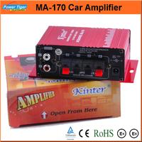 Popular Ipod Amplifier Kit Speaker Car Amplifier Stereo Hi-Fi Mini Digital Power Amplifier for Car MP3 DVD Input 2Channel