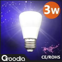 Free shipping&Wholesale Led Lamp E27 200V-240V 3W Led Bulb E27 Cold/Warm White Energy Saving Led Light Lamps  LED Bulbs