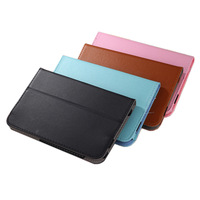 120pcs 7'' Universal Case Filio Folding Stand Case For 7inch Tablet PC MID Apad Epad Black Blue Pink Brown in Stock free dhl