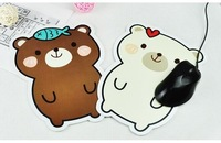 Min. order is $15 (mix order) C255 Korea  stationery cute  Cartoon Little Bear skid resistance  mouse pad