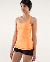 Canada Brand Luluemon Yoga Tanks Camis For Women  Lycra Lady Sexy Yoga shirt with bra original tag  Sportswear Tops With Bra
