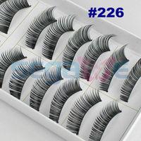Individual false eyelash 8/10/12/14mm planting eye lashes extension beauty makeup with retail box #226