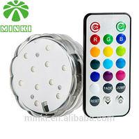 MINKI DC4.5V Remote control 10 LED light,16 colors Grass Vase Light Base ,New Small Hookah Water Smoking Pipe LED Hukka Shisha