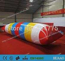 2014 nuevo salto burbuja inflable del agua ( envío libre + 8 * blob agua 3m + bomba de aire + bolsa de almacenamiento de PVC)(China (Mainland))