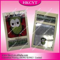 Custom Printed Smacked 5g Vanilla Potpourri Ziplock Bag