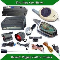 cardot LCD car alarm syste is with auto lock central car door,remote keyless entry alarm,car remote paging sensor call or unlock