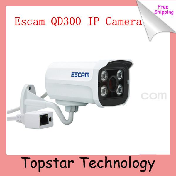 2014 Escam Brick QD300 Mini Camera HD720P IR Bullet H.264 CMOS IP Camera 3.6mm Lens Onvif Night Vision P2P 1.0MP Security Camera(China (Mainland))
