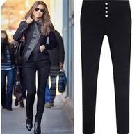 2014 New Fashion Women Pencil Pants High Waist Jeans Sexy Slim Elastic Jeans Skinny Pants Trousers  Women plus size 5XL Jeans