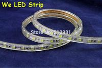 110v led strip 2014 new Products 5050 LED strip 110V 120V 130V white/warm white Waterproof flexible SMD led strip 60leds/M