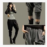 2014 New fashion Women Hip hop pants dance sweatpants ds costume Loose plus size casual female womens sports harem trousers