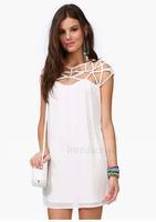 HIGH QUALITY! knit hollow out women's dress girl fashion dress XS-XXL, 141515963