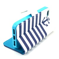 Hot Magnetic Leather Case For iPhone 5 5S Wallet Case PU Photo Frame Cover with Card Holder Stand Design Skin More Colors